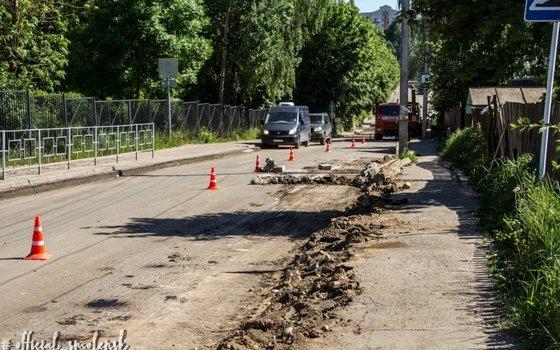 В Смоленске продолжаются работы на улице Марины Расковой