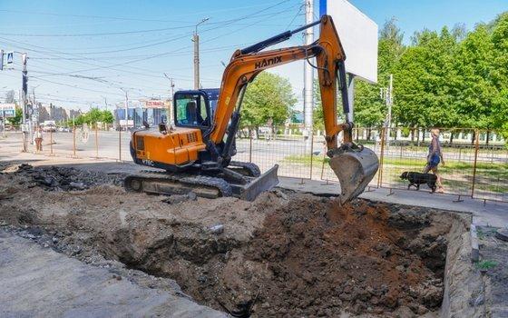В июле в Промышленном районе Смоленска из-за ремонта теплосетей перекроют дорогу