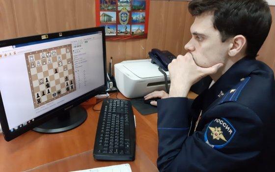 Смоленские транспортные полицейские стали призёрами онлайн турнира по шахматам