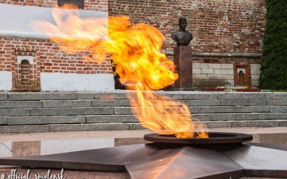 Вечный огонь в Смоленске перенесут в новое место