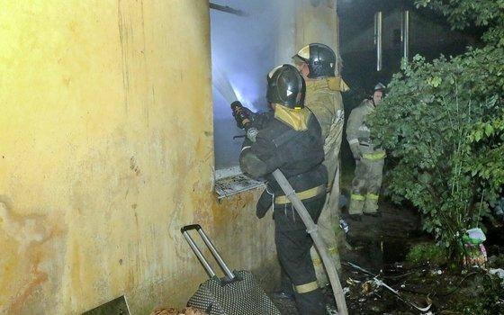 Смолянин спас соседа из пожара